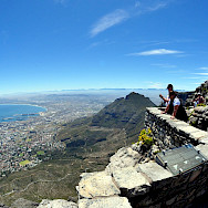 View from Table Mountain overlooking Cape Town, South Africa. Flickr:Paul Scott