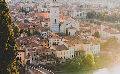 Verona on the Adige River in Veneto, Italy. Photo via TO