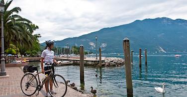 Overlooking Lake Garda in Italy. Photo via TO