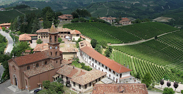 Old towns and vineyards make up this tour. Here one en route. Photo via TO