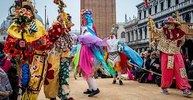 Ballad of the Masks festival in Venice, Italy. Flickr:Sergey Galyonkin