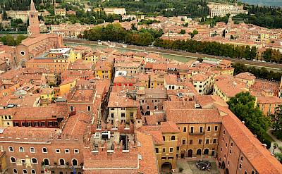 Verona on the Adige River in Veneto, Italy. Flickr:Pedro