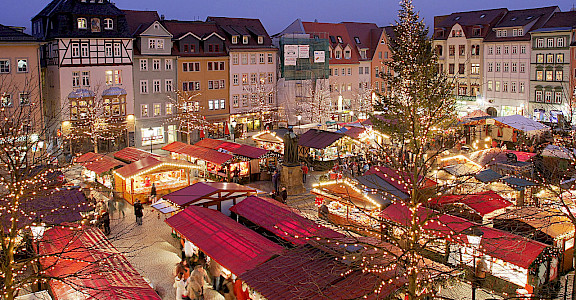 Weihnachtsmarkt in Jena, Germany, as another example. Flickr:Rene Schwietzke