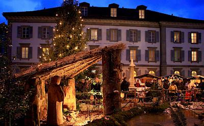 Weihnachtsmarkt in Rappesrwil, Germany. Creative Commons:Rolandzh