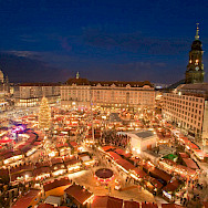 Striezelmarkt in Dresden, Germany - considered to be the first real Christmas Market in Europe. Creative Commons:lhdddittrich