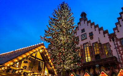 Here is a Weihnachtsmarkt in Frankfurt, Germany, as an example. Flickr:Maayan Windmuller