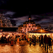 Here is a Weihnachtsmarkt in Lüneburg, Germany, as an example. Flickr:Maayan Windmuller