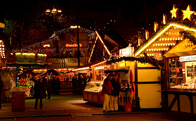 Weihnachtsmarkt in Dortmund, Germany. Flickr: Gian Cornachini