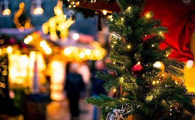 Weihnachtsmarkt in Germany. Flickr:Daniel Lerps