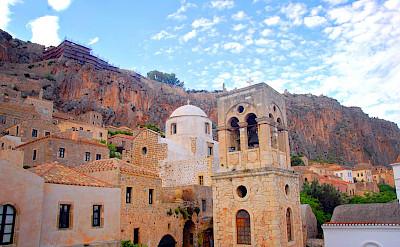 Great architecture on the Peloponnese & Saronic Islands Bike Tour! Photo via TO