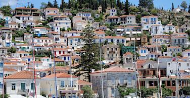 Harbor town en route this Peloponnese and Saronic Islands Bike Tour! Photo via TO