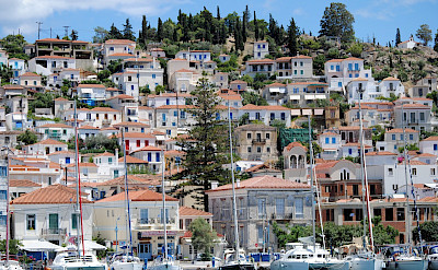 Harbor town en route this Peloponnese and Saronic Islands Bike Tour! Photo via TO