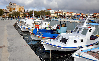Aegina is one of the Saronic Islands in Greece. Flickr:Jorge Lascar