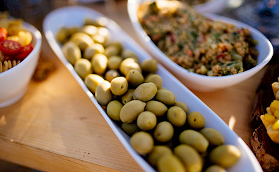 Fresh olives in Greece. Flickr:Nenad Stojkovic