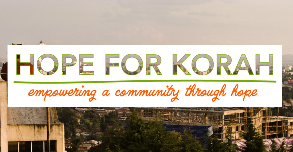 Hope for Korah: Empowering a community through hope