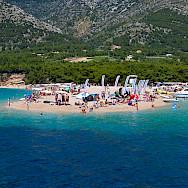 Beaching on Bol on Brac Island, Croatia. Flickr:Nikolaj Potanin