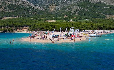 Beaching on Bol on Brac Island, Croatia. Flickr:Nikolaj Potanin