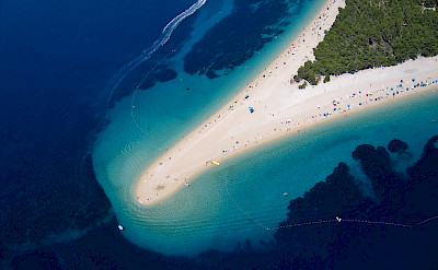 Bike to beach in Bol on Brac Island, Croatia. Flickr:Szabolcs Emich