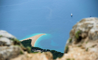 Overlooking the Adriatic Sea from Brac Island, Croatia. Photo via TO