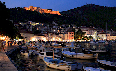 Nighttime on the Dalmatian Coast always offers great views. Flickr:Antonio Castagna