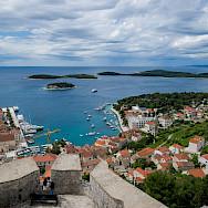 Great fortress sits on Hvar Island on the Dalmatian Coast in Croatia. Photo via TO