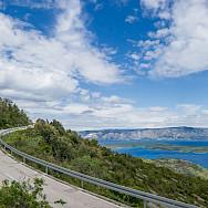 Biking the coast on Hvar Island, Dalmatia, Croatia. Photo via TO