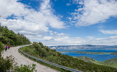 Biking the coast on Hvar Island, Dalmatia, Croatia. Photo via TO