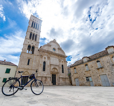 Bike rest on Hvar Island, Dalmatian Coast, Croatia. Photo via TO