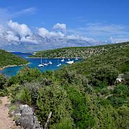 Ships, harbors, islands, vistas etc. make up this Dalmatia Bike Tour in Croatia. Photo via TO