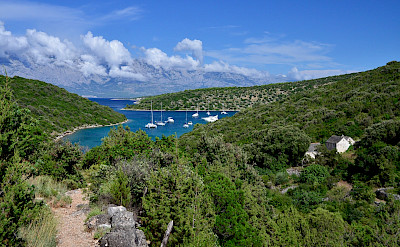 Ships, harbors, islands, vistas etc. make up this Dalmatia Bike Tour in Croatia. Photo via TO