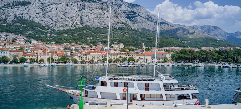 Pape Privi Ship Dalmatia Croatia Bike Tour. Photo via TO