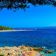 Bike rest to swim off Brac Island, Croatia. Flickr:Nick Savchenko