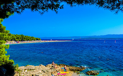 Bike rest to swim off Brac Island, Croatia. Flickr:Nick Savchenko