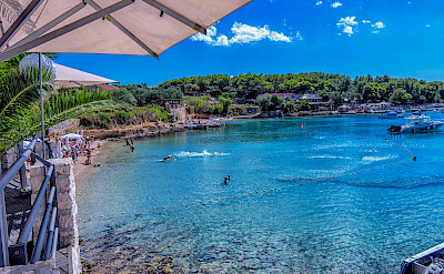 Swimming on Hvar Island, Dalmatia, Croatia. Flickr:Arnie Papp