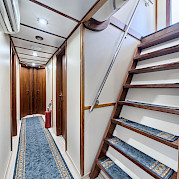 Interior on Pape Privi Ship - Dalmatia Croatia Bike Tour