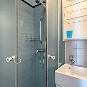 Bathroom on Pape Privi Ship - Dalmatia Croatia Bike & Boat Tours