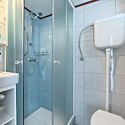 Private bathroom on Pape Privi Ship - Dalmatia Croatia Bike & Boat Tours