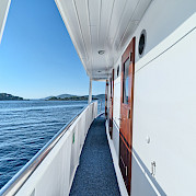View on Pape Privi Ship - Dalmatia Croatia Bike & Boat Tours