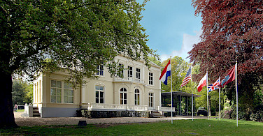Hartenstein Airborne Museum in Arnhem, the Netherlands. Wikimedia Commons:Airborne Museum Hartenstein