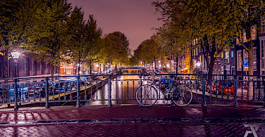 Bike rest in Amsterdam, North Holland, the Netherlands. Photo via Flickr:syuqoraizzat