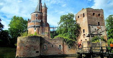 Castle in Wijk bij Duurstede, Utrecht, the Netherlands. Wikimedia Commons:Micro Toerisme