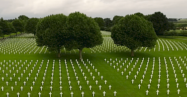 War graves in the Netherlands.