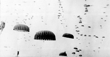 Paratroopers in the Netherlands during WWII.
