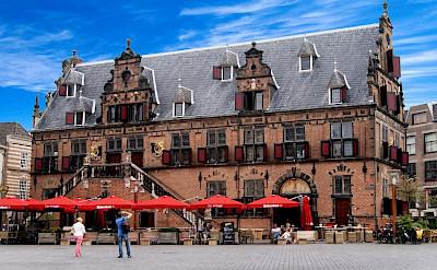 Passing through Nijmegen, the Netherlands.
