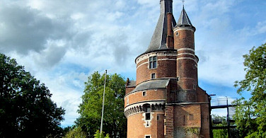 Great architecture in Wijk bij Duurstede, Gelderland, the Netherlands!