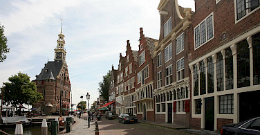 Great architecture in Hoorn, North Holland, the Netherlands. Flickr:bertknot