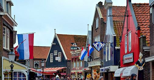 Volendam in North Holland, the Netherlands. Flickr:Juan Enrique Gilardi