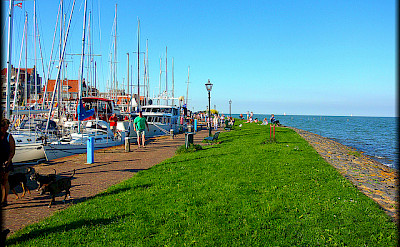 Volendam on Marker Sea in the Netherlands. Flickr:Jose A.