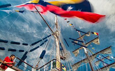 Ships galore in Antwerp, Belgium. Flickr:Willy Verhulst