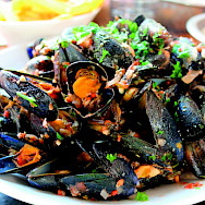 Mussels are a favorite treat in the Netherlands.